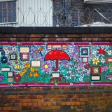 Mosaic Mural: A Reflection