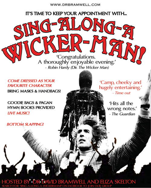 SING-ALONG-A-WICKER MAN (with supper!)
